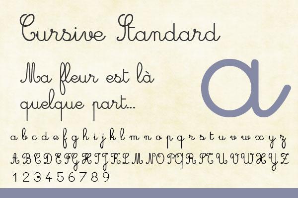 cursive-standard