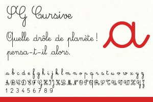 Police sg-cursive