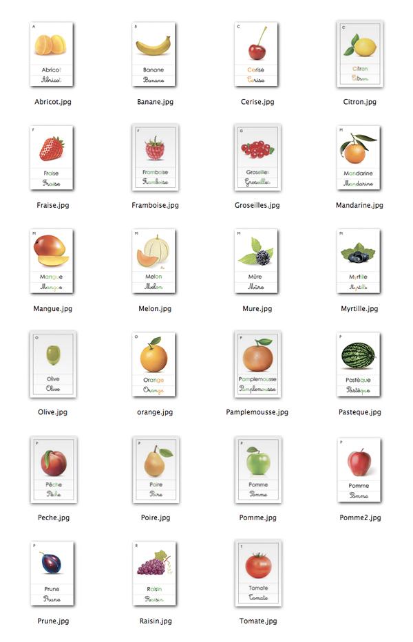 Liste De Fruits