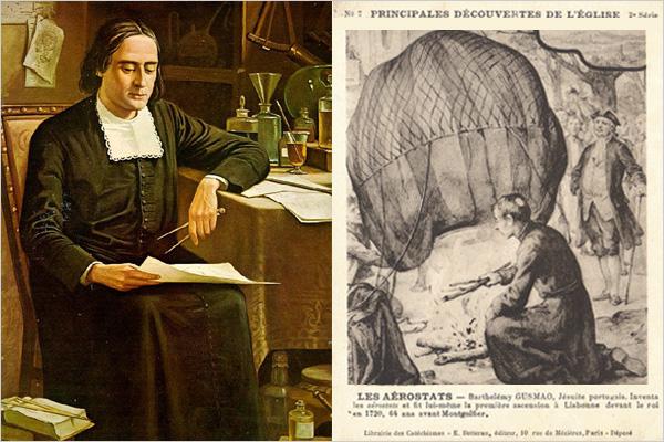 Bartolomeu Lourenço de Gusmão et les premiers aérostats
