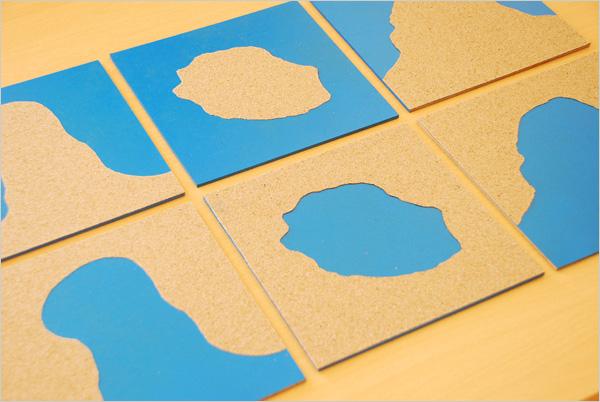 Cartes des Formations Géographiques Montessori