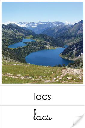 Lacs Geographie Montessori