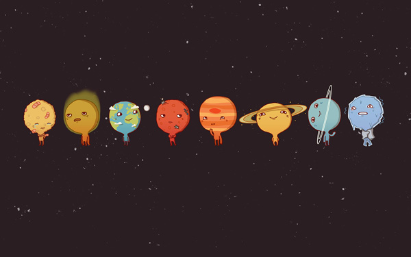 Planètes par Anneka Tran