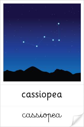 Constellation de Cassiopée