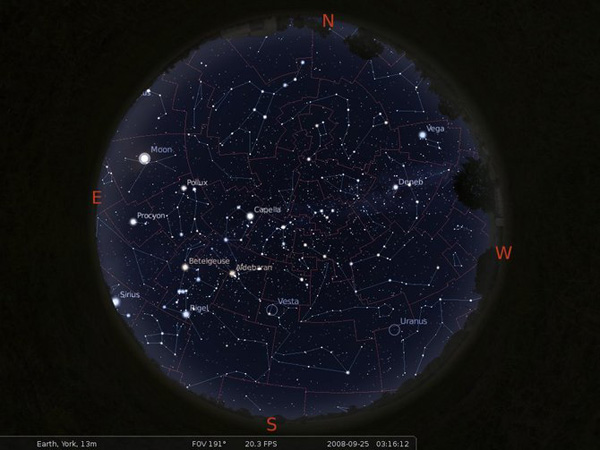 Nous pouvons ainsi obtenir de remarquables cartes du ciel.