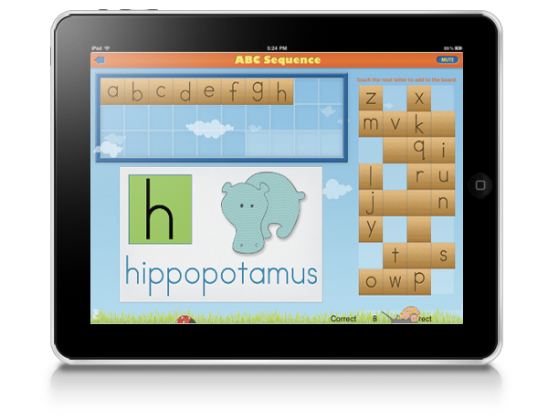 Abc Sequence Montessori iPad