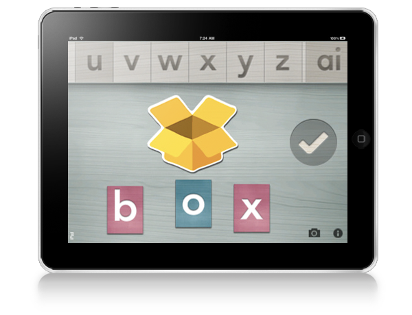 Alpha Writer Montessori iPad