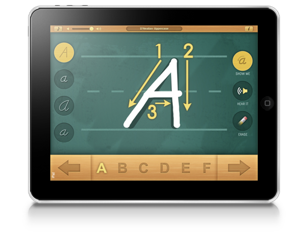 Alphabet Board Montessori iPad