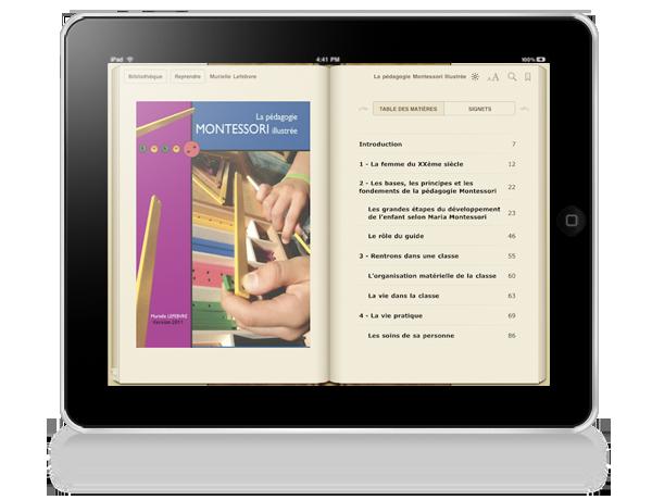 Montessori iIllustre iPad