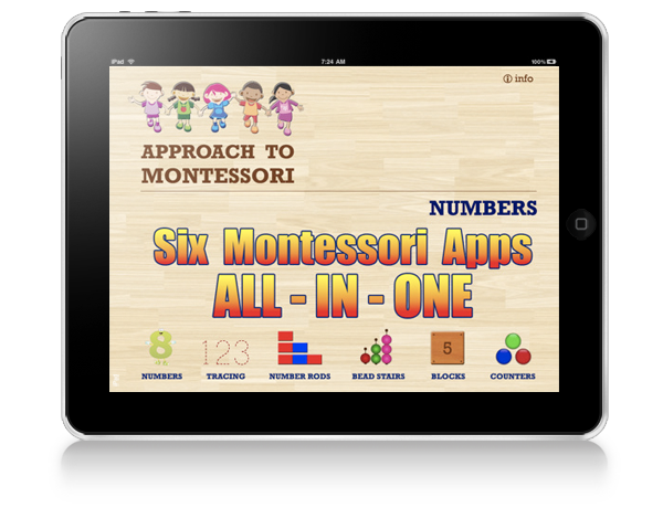 Capture Montessori Numbers