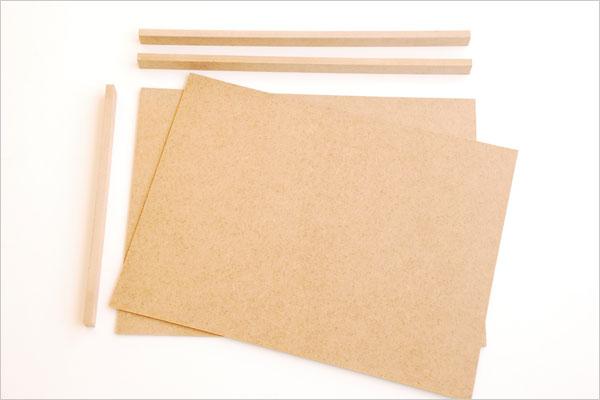 Planches pour la fabrication d'un Butaï