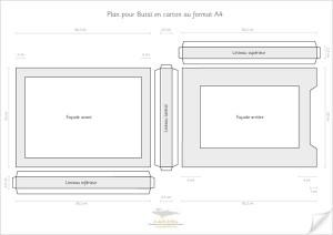 Plan de butai au format A4