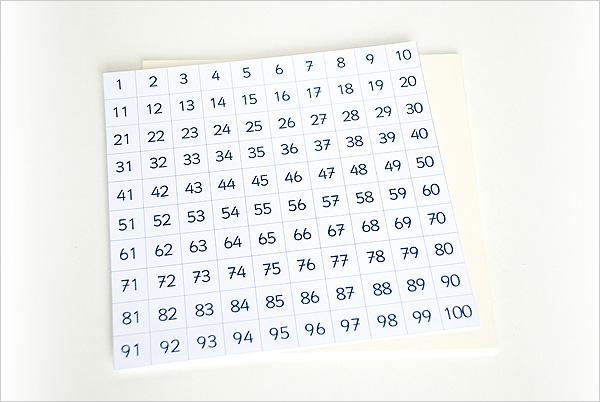 Collage de la grille de timbres