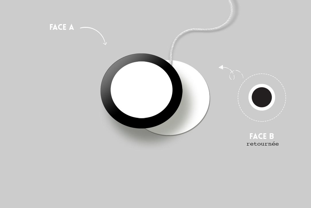 Mobile de Munari - Assemblage du Cercle