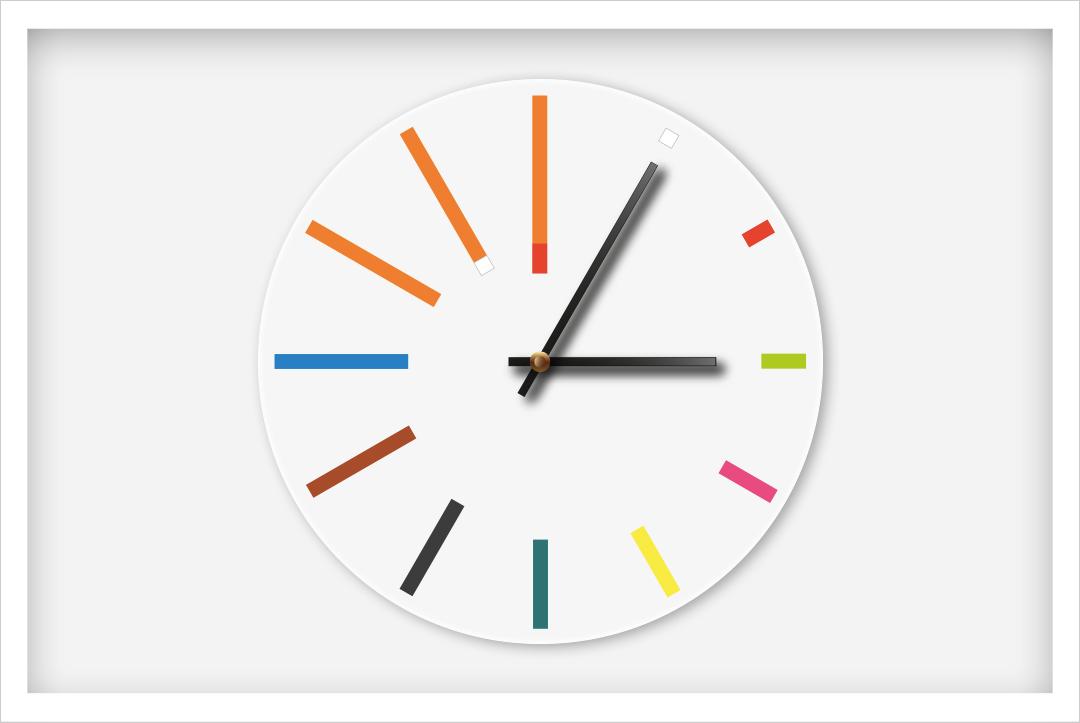 Horloges Montessori