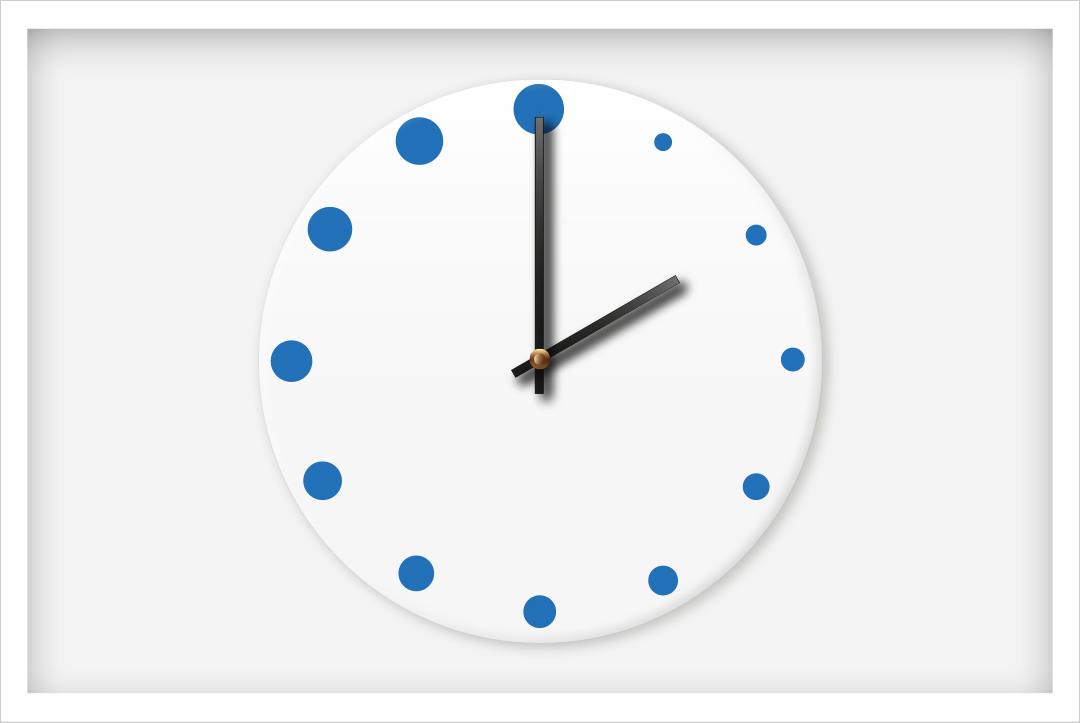 Horloges de Montessori