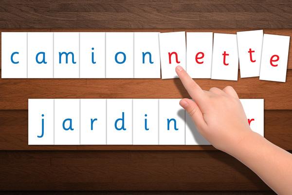 Lettres Mobiles et suffixes
