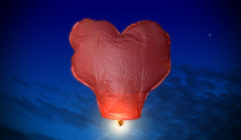 Fabriquer une lanterne volante mod le en forme de coeur le jardin de kiran ressources pour - Fabriquer une lanterne ...