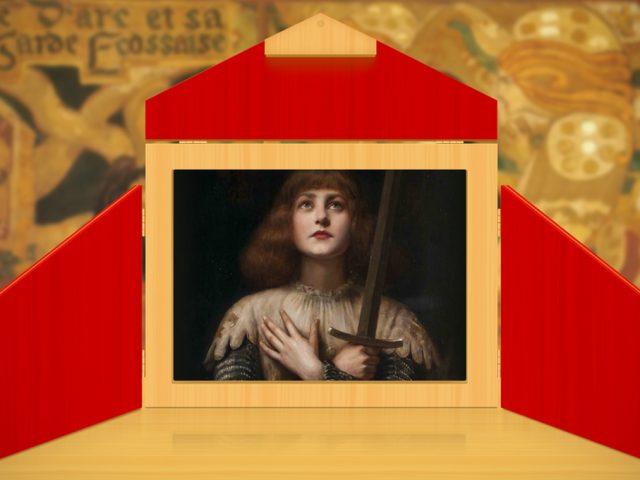Projet Kamishibaï : Histoire de Jeanne d'Arc