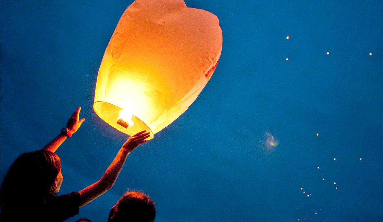 fabriquer une lanterne volante mod le biod gradable le