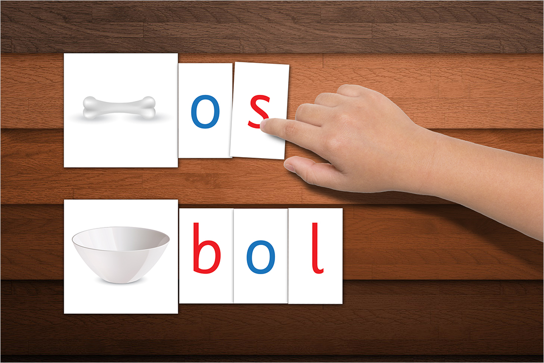 Usage des Lettres Mobiles de Montessori