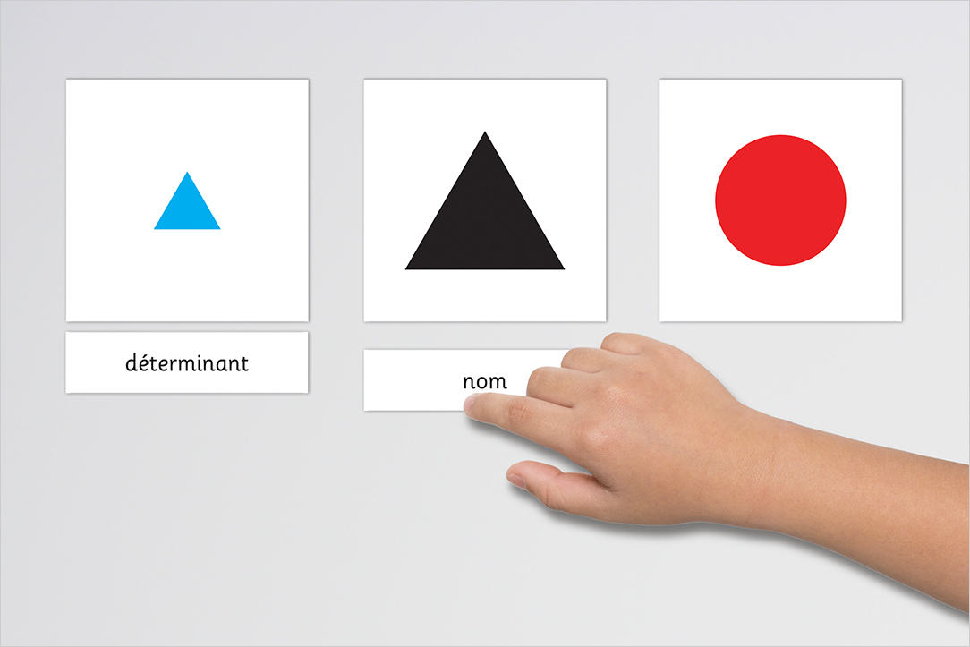 Usage des Symboles grammaticaux de Montessori