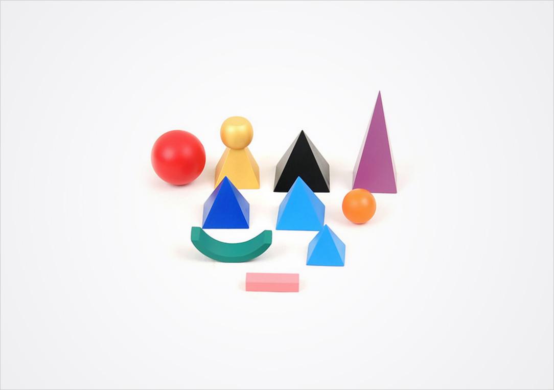 Symboles grammaticaux de Montessori en volume