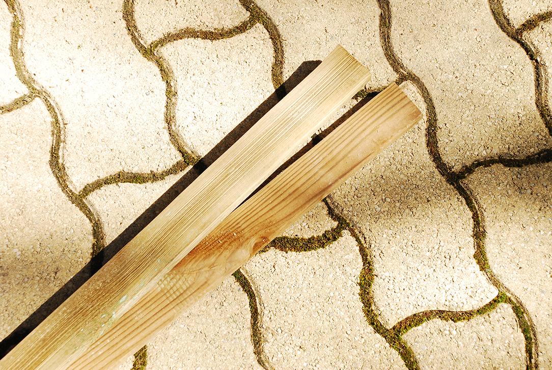 Composteur pédagogique - Lames trappe de versement