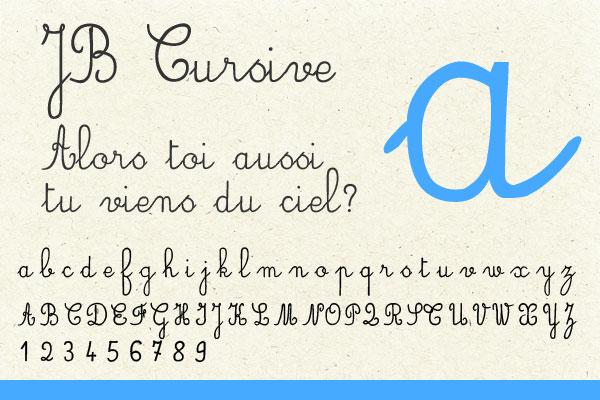 jb-cursive