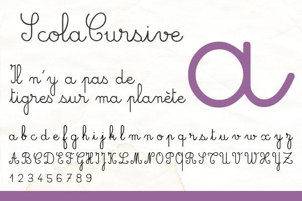 scola-cursive