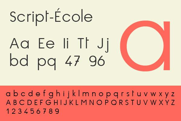 script-ecole
