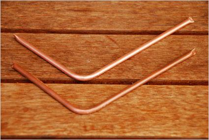 Mise en forme des tuyères en cuivre
