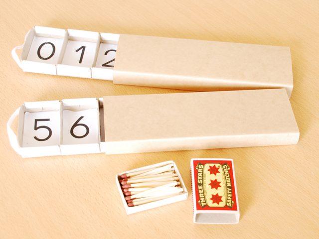 Construire une Boîte de Fuseaux Montessori : Modèle de Fortune