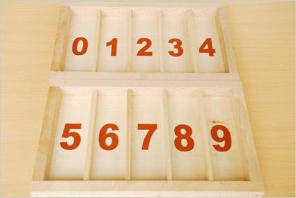 Les boîtes à chiffres rugueux sont prêtes à accueillir leurs fuseaux