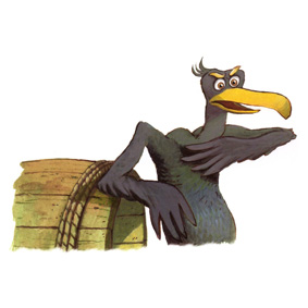 Pédro le cormoran