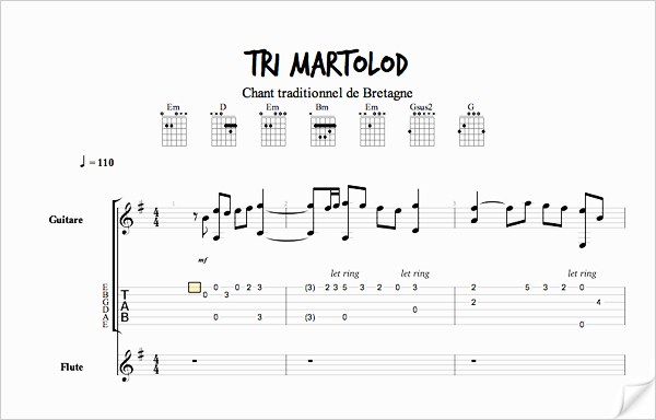 Partition Tri Martolod