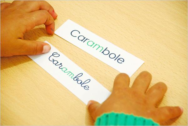 Comparaison et association des modes d'écriture