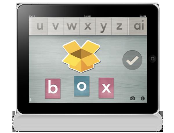Alpha Writer Montessori iPad
