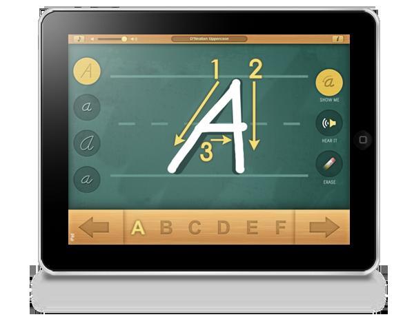 Alphabet Board Montessori iPad