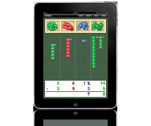 Stamp Game Montessori iPad