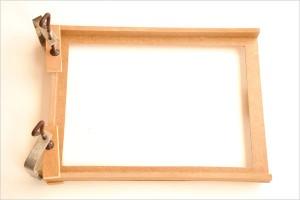 Assemblage des tasseaux pour la fabrication d'un Butaï