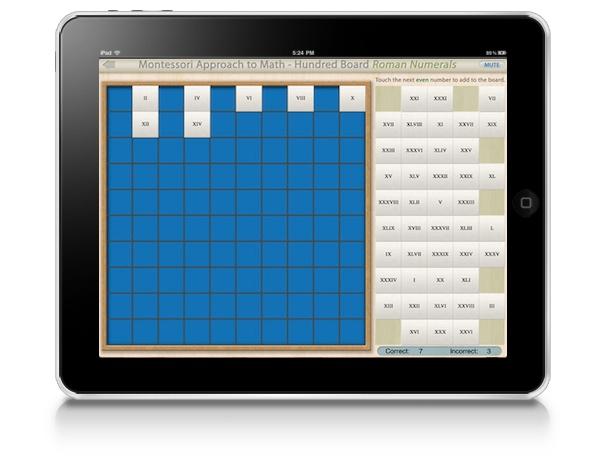 montessori-approach to-math-hundred-board-roman-numerals
