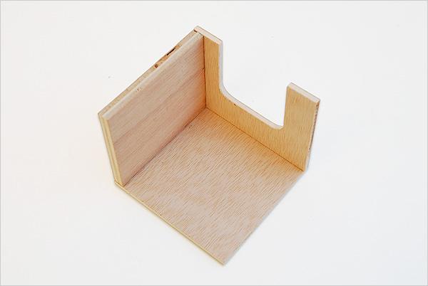 Assemblage du fond du tiroir - Imbucare à tiroir