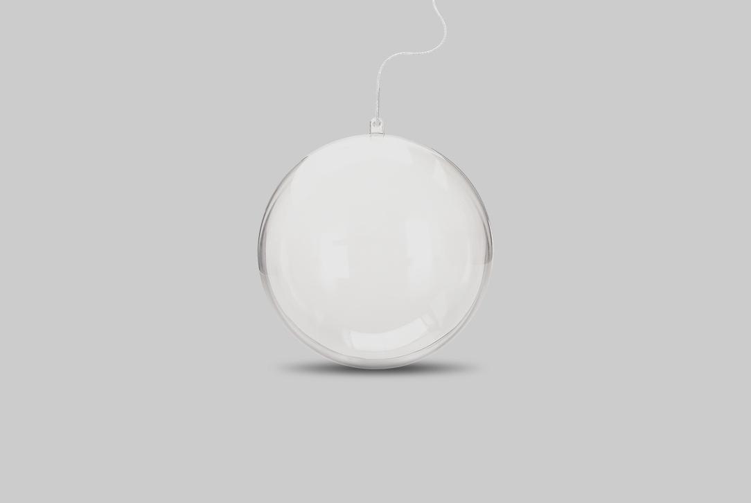 Mobile de Munari - Boule transparente