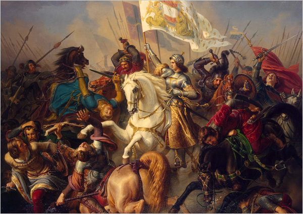 Kamishibaï Jeanne d'Arc