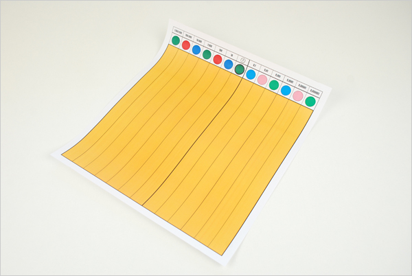 Table hiérarchies Montessori imprimée