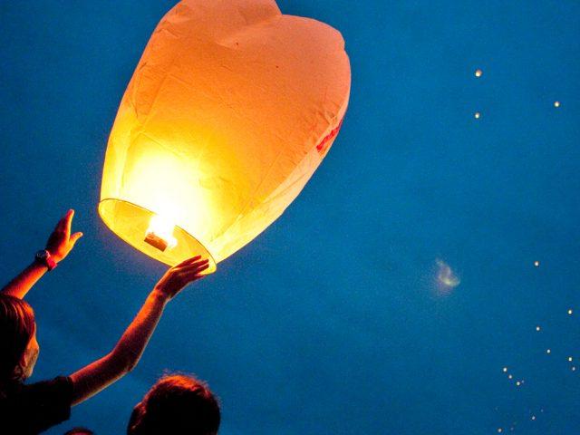 Fabriquer une Lanterne Volante : Modèle Biodégradable