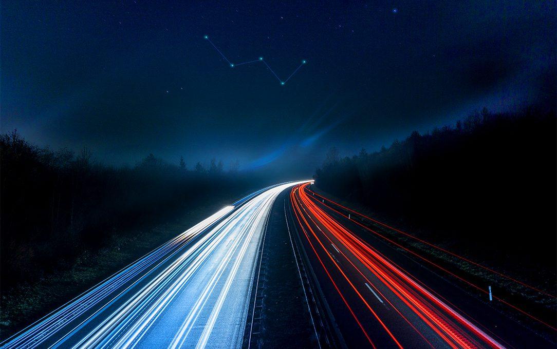 Constellations et autoroute