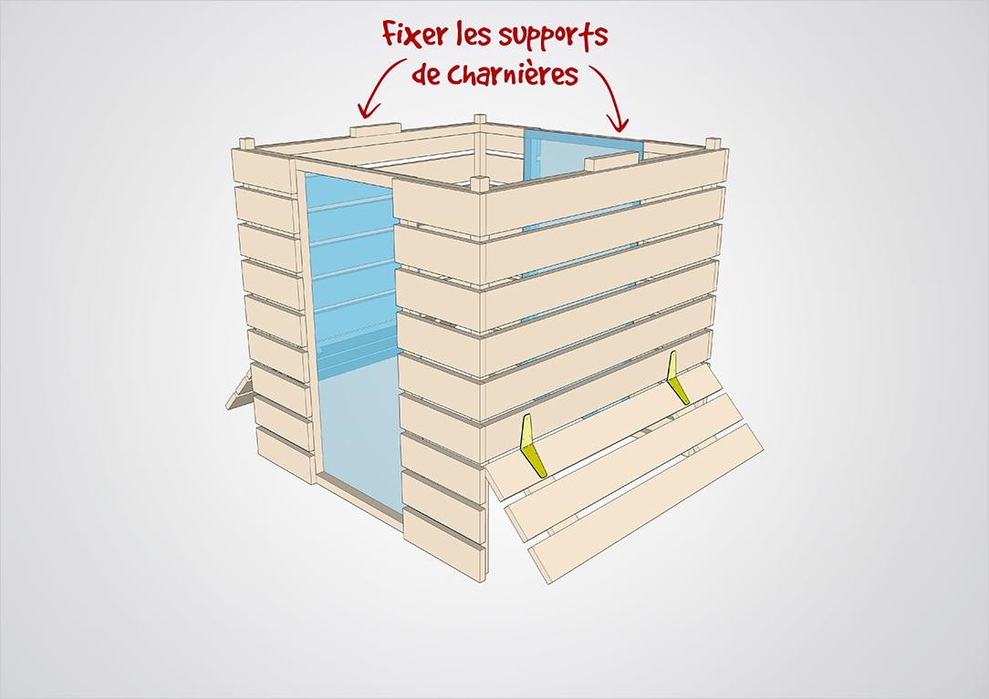Composteur pédagogique - Trappes supérieure